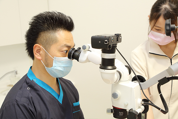マイクロスコープによる精度の高い根管治療